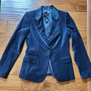 EUC Saks Fifth Avenue velvet blazer